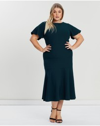 Atmos&Here Curvy - Cherie Midi Dress