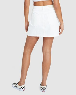 Insight Darby Cord Skirt - Skirts (OFF WHIT)