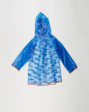 Cotton On Kids Cloudburst Raincoat   Kids - Accessories (Dusk Blue Dinosaur)