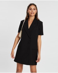 Dazie - Play By The Rules Blazer Dress