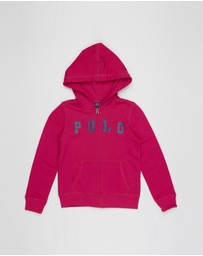 Polo Ralph Lauren - Cotton-Blend Terry Logo Hoodie - Kids