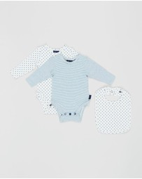 Pappe - 3-Piece Nimmy Long Sleeve Bodysuit Set