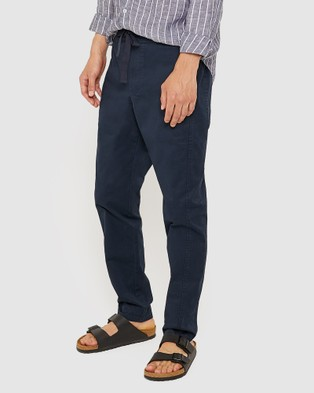 Jag The Relaxed Cotton Pants - Pants (Navy)