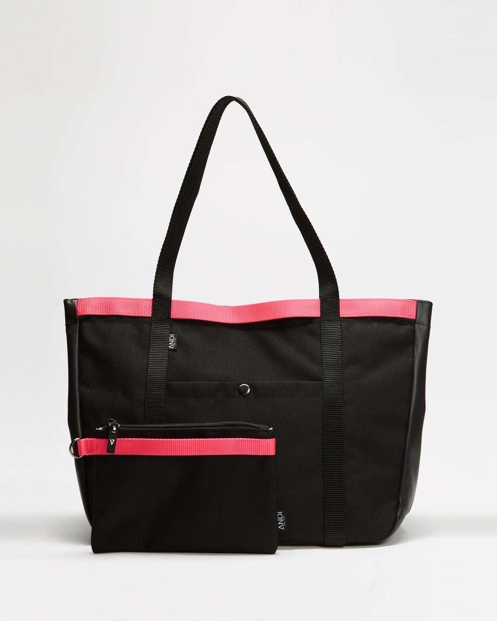 ANDI New York The Summer Tote Beach Bags Black & Pink