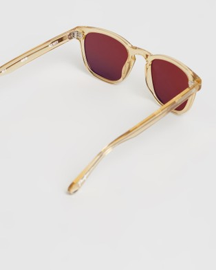 Pacifico Optical Yacht Master - Square (Champagne with Polarised Brown Lens)