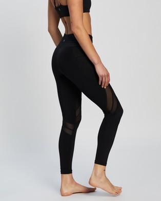 Dharma Bums Daybreak 7 8 Leggings - 7/8 Tights (Black)