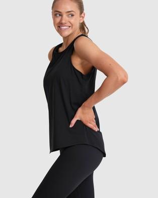 Dharma Bums Solitude Tank - T-Shirts & Singlets (Black)
