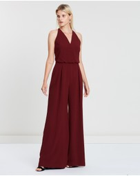 REISS - Kadie Embroidered Strappy Back Jumpsuit