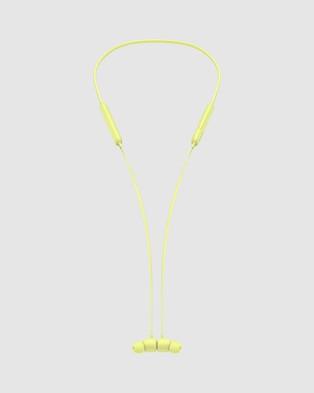 Beats by Dr. Dre Beats Flex All Day Wireless Earphones - Tech Accessories (Yuzu Yellow)