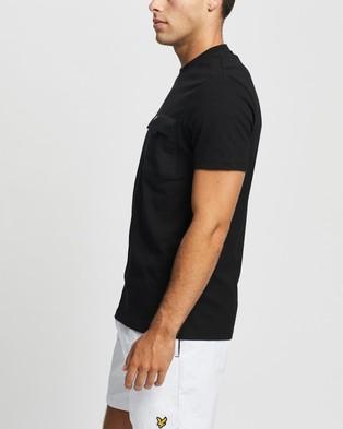 Lyle and Scott Chest Pocket T shirt - T-Shirts & Singlets (Jet Black)