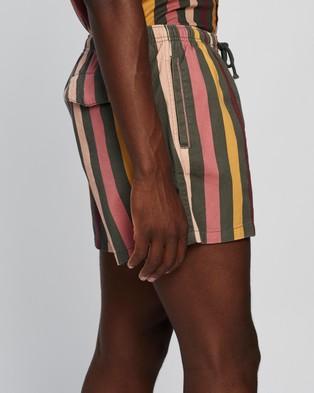 Locale Stripe Boardwalk Shorts - Shorts (Multi)