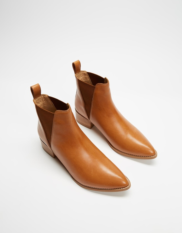 Women Mateo Leather Ankle Boots