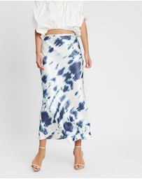 Shona Joy - Palmar Bias Midi Skirt
