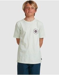 Billabong - Boys Holey Moley Short Sleeve Tee
