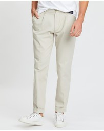 Tommy Hilfiger - Icon Tapered Pleat Cotton Chinos