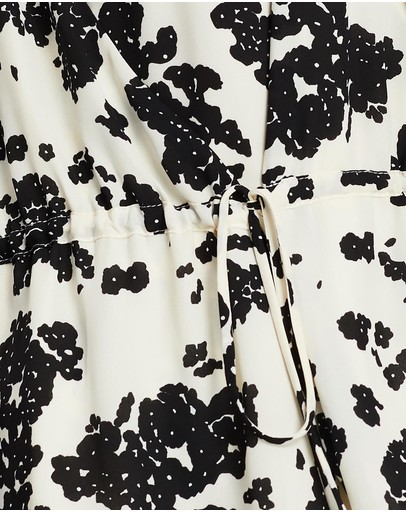 Notes Du Nord Orchid Recycled Top Noir Flower