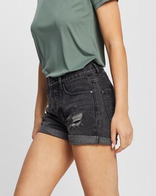 Rip Curl Vixen II Denim Shorts - Denim (Black)