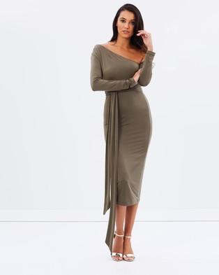 Pasduchas – Amelie Midi – Bodycon Dresses (Moss)
