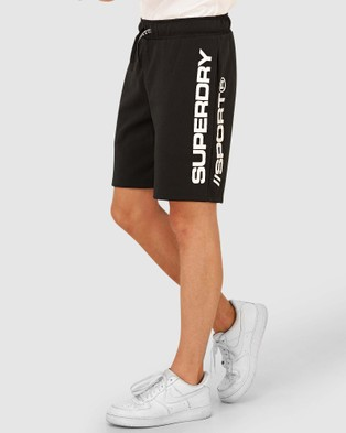 Superdry Sport Urban Camo Shorts - Shorts (Black)