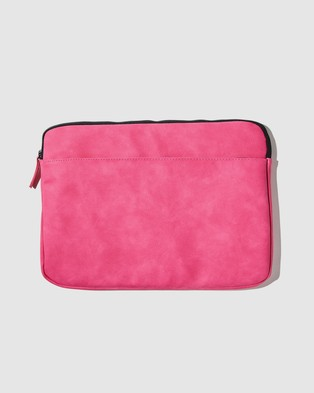 Typo Core Laptop Cover 13 Inch - Tech Accessories (Raspberry)
