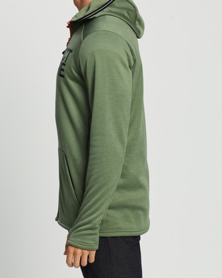 Picture Rony Zip Tech Hoodie - Hoodies (Army Green)