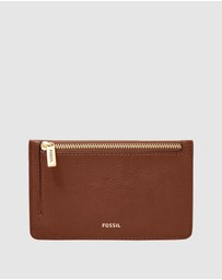 Fossil - Logan Brown Card Case