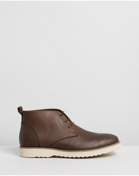 Double Oak Mills - Maitland Leather Chukka Boots