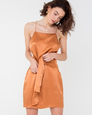 Carver – Elle Mini Dress Orange