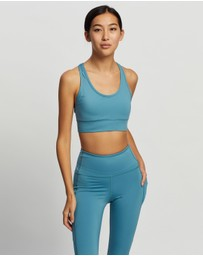 Dharma Bums - Racer Back Sports Bra