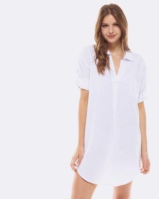 Deshabille – Revallo Shirt Dress White White