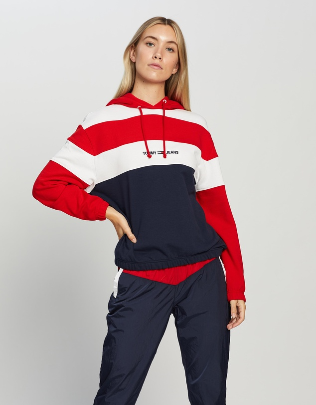 Tommy Jeans - Retro Colourblock Hoodie