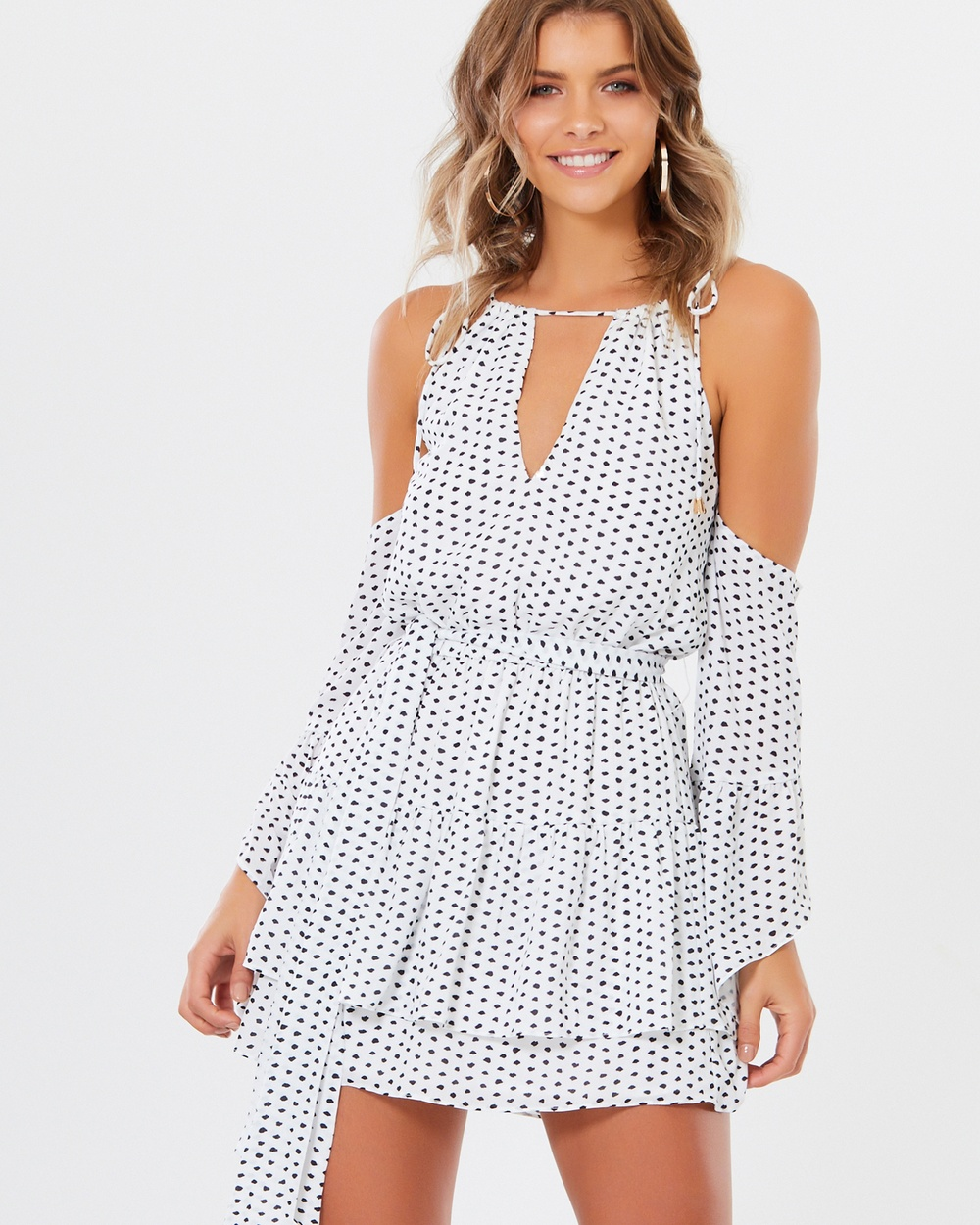 Tussah Oakley Dress Printed Dresses Squiggle Spot Oakley Dress