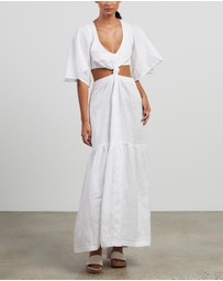 KITX - Linen One-Knot Dress