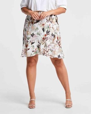 Estelle Botanical Skirt - Skirts (Print)
