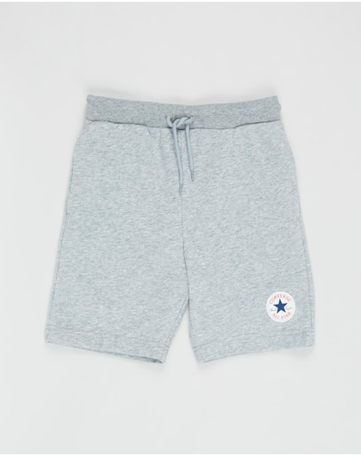 Converse - French Terry Printed Chuck Patch Shorts - Teens
