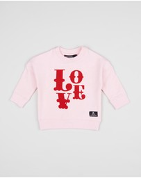 Rock Your Baby - ICONIC EXCLUSIVE Love Jumper - Babies