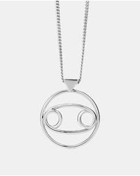Karen Walker - Cancer Zodiac Necklace
