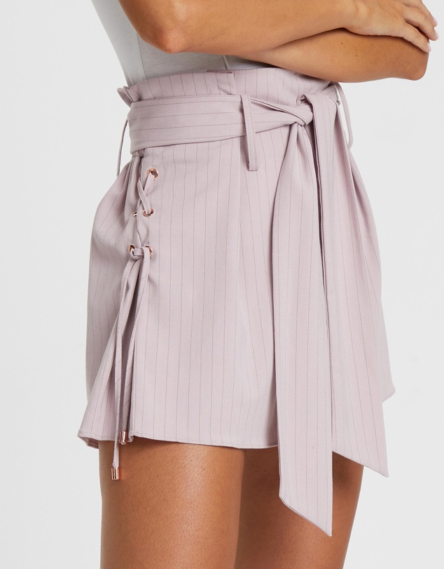 Tussah - Ariana Lace-Up Shorts