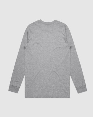 First Division Core Logo Long Sleeve Tee   Teens - Long Sleeve T-Shirts (GREY)