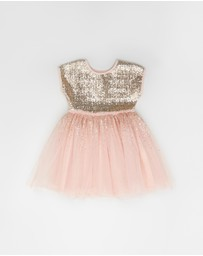 Cotton On Kids - Inga Tulle Dress - Kids-Teens