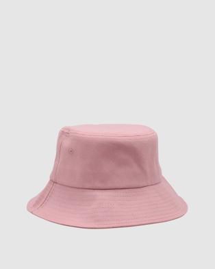 Morgan & Taylor Abbey Bucket Hat - Hats (Pink)