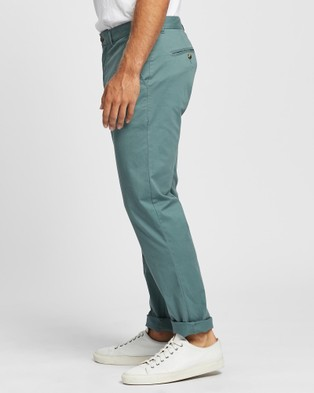 Marcs Baxter Lightweight Slim Chino - Pants (SAGE)