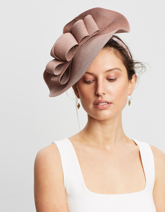 new design official new collection Large Plate Racing Fascinator by Max Alexander Online | THE ICONIC ...