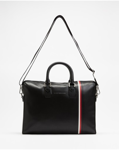 Tommy Hilfiger - Fine Leather Slim Computer Bag
