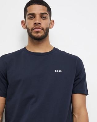 BOSS Regular Fit Tee - T-Shirts & Singlets (Navy)