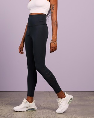 Champion - Ultra Hi Rise Tights Full (Black) Hi-Rise