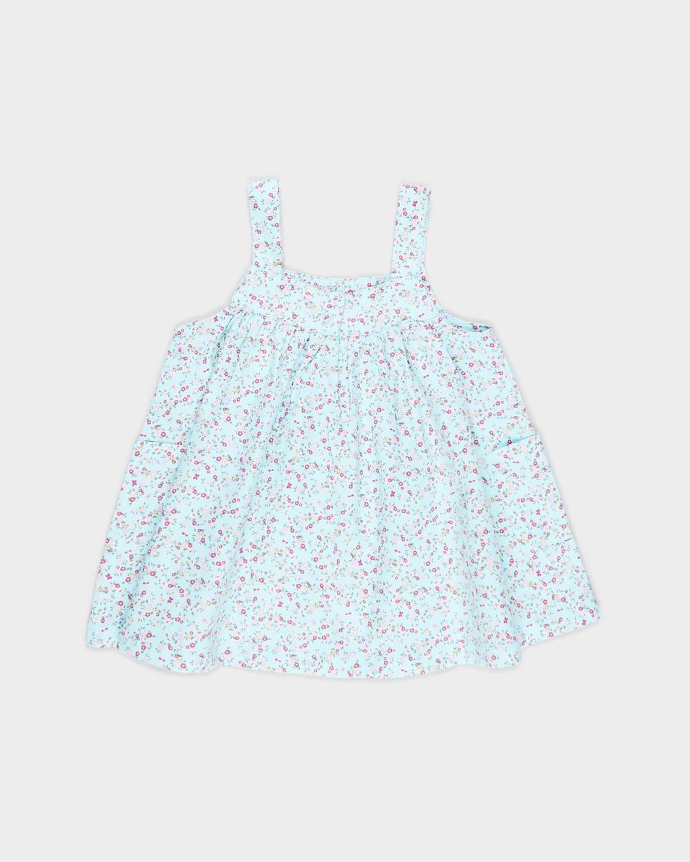 Cotton On Baby Penny Pinafore Dress Babies Dresses Dream Blue Fuschia Pop & Somerset Floral Australia