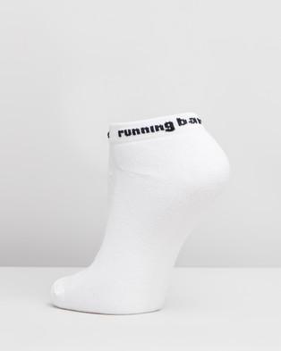 Running Bare Bare Essentials Microfibre Socks - Underwear & Socks (White)