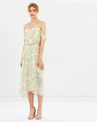 CAMILLA AND MARC – Lucia Midi Dress Lineament Print