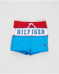 Tommy Hilfiger - Medium Drawstring Boardshorts - Kids-Teens